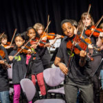 Sistema England Young Leaders Programme includes 36 talented and committed young musicians from In Harmony Lambeth, In Harmony Liverpool, Sistema in Norwich and The Nucleo Project. These young leaders will come together in the week of 26 October to create a Sistema orchestra. Rehearsals will be held at Overstrand Hall, in Norfolk, and there will be a filming session at Epic Studios, in Norwich, Oct. 29 -30, 2015 (Photos/Ivan Gonzalez)